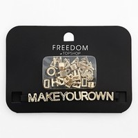 Topshop 'Make Your Own' Wristband