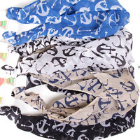 3 in 1 Anchor Headbands