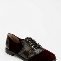 Urban Outfitters - BC Footwear Throw Your Hands Up Velvet Oxford