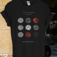 twenty one pilots shirt twenty one pilots t shirt twenty one pilots tshirt twenty one pilots tank 21 pilots shirt size S,L,XL,M