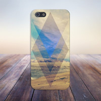 Geometric Sunny Beach Case for iPhone 6 6+ iPhone 5 5s 5c iPhone 4 4s and Samsung Galaxy s5 s4 & s3