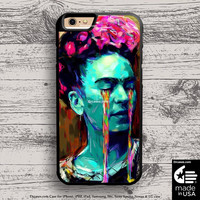 Frida Kahlo Colorful Tears case for iphone 5s 6s case, samsung, ipod, HTC, Xperia, Nexus, LG, iPad Cases