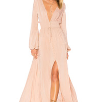 ale by alessandra Eduarda Maxi Dress in Latte | REVOLVE