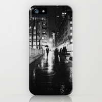New York City Noir iPhone & iPod Case by Vivienne Gucwa