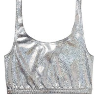 Toni shimmer top | You may also like | Monki.com