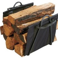 Panacea Fireplace Log Tote with Stand