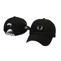 Perfect Stussy Women Men Embroidery Sports Hip Hop Baseball Cap Hat