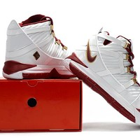 Nike Lebron 3 LBJ3 White/Wine Red