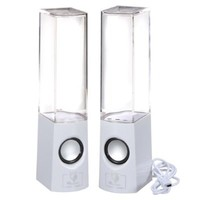 Dreamall Music Fountain Mini Amplifier Dancing Water Speakers (2013 New White)