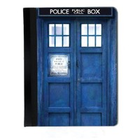 Blue Police Call Box iPad 2, 3rd and 4th Generation Cover