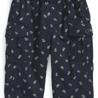 Infant Boy's Tea Collection 'Anchors Aweigh' Cargo Pants,