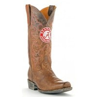 Gameday Boots Mens Leather University Of Alabama Board Room Cowboy Boots