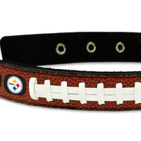 Pittsburgh Steelers Dog Collar - Size Medium