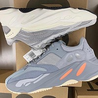 Adidas Yeezy 700 Boost Sneakers Fashion Casual Women Men Running Reflective strip Sport Shoes