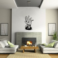 Zombie Walking Dead Hand Wall Decal Sticker Large Horror Evil Cool