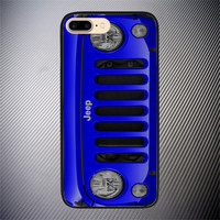 Blue Jeep Wrangler Sport High Quality Case For iPhone 6 6s Plus 7 7 Plus Cover