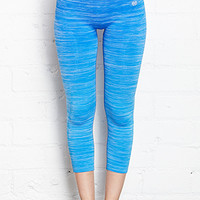FOREVER 21 Ombre Seamless Capris Royal Large