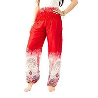 Boho Pants Colorful Pants Hippie Maxi Pants Bangkokpants Women's Yoga Pants