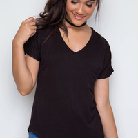 Nina Basic Top - Black