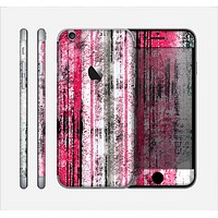 The Vintage Worn Pink Paint Skin for the Apple iPhone 6