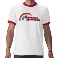 reading_rainbow_logo tshirts from Zazzle.com