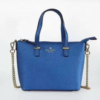 VONE05F Day First KATE SPADE Women Shopping Leather Metal Chain Crossbody Satchel Shoulder Bag