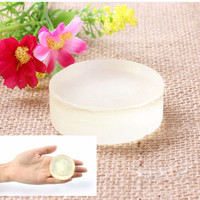 1PCS Natural Active Enzyme Crystal Skin Whitening Soap Body Skin Whitening Soap For Private Parts fade Free Shipping