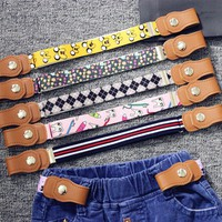 Unisex Kids NO BUCKLE BELT