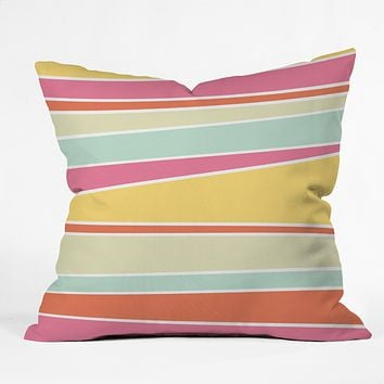 Caroline Okun Delicious Throw Pillow