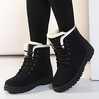 Women Boots Plus Size 44 Snow Boot For Women