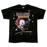 Killer Klowns From Outer Space - Mens Poster T-shirt Small Black