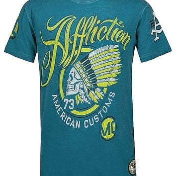 Affliction American Customs Mojo Rising T-Shirt