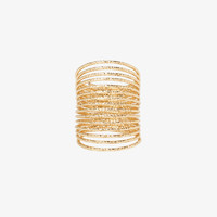 Textured Slinky Ring