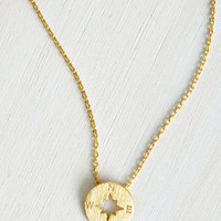 Nautical Such Navigate Heights Necklace by ModCloth