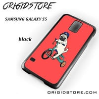 Pug Bicycle For Samsung Galaxy S5 Case UY