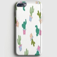 Cactus Paintful iPhone 8 Plus Case