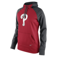 Nike Therma-FIT All-Time Pullover (MLB Phillies) Women's Training Hoodie