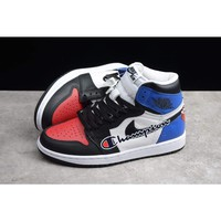 Jordan Retro 1 x Champion SE Graffiti