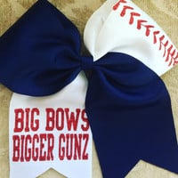 Big Bow Bigger Gunz! Hair Bow