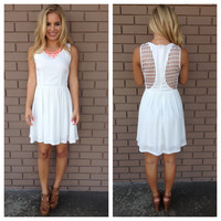 White Angelic Sleeveless Dress