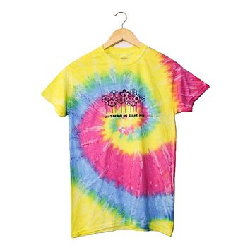 Watermelon Sugar High Rainbow Tie-Dye Graphic Unisex Tee