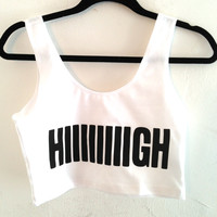 Hiiiiigh Summer Crop Top