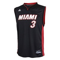 Dwyane Wade Miami Heat Youth Revolution 30 Performance Jersey-Black