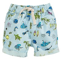 Boys Shorts Kids Clothes Children Summer Beach Shorts for Boys Clothing Animal Print Cotton Baby Boy Short