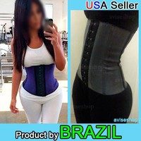 Women Work Out slimming Belt Waist Trainer Cincher Underbust Corset Body Shaper Shapewear