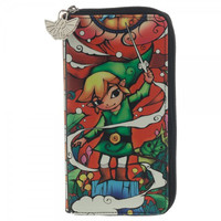 Nintendo Zelda Large Zip Around Wallet
