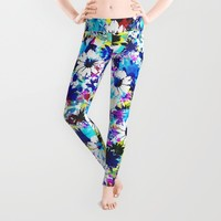 Floral 2 Leggings by Aimee St Hill