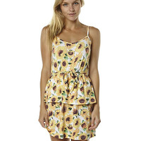 JUST ADD SUGAR SUNNY WOMENS DRESS - WHITE FLORAL