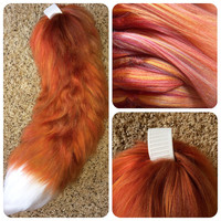 Realistic Red Fox Tail