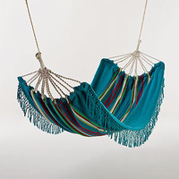 Rio Pagoda Stripe Hammock | Outdoor and Patio Furniture| Furniture | World Market